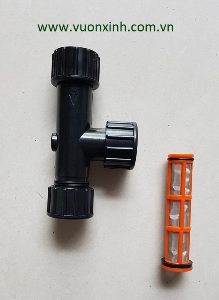 Bộ lọc Mini cho hệ thống tưới nhỏ giọt