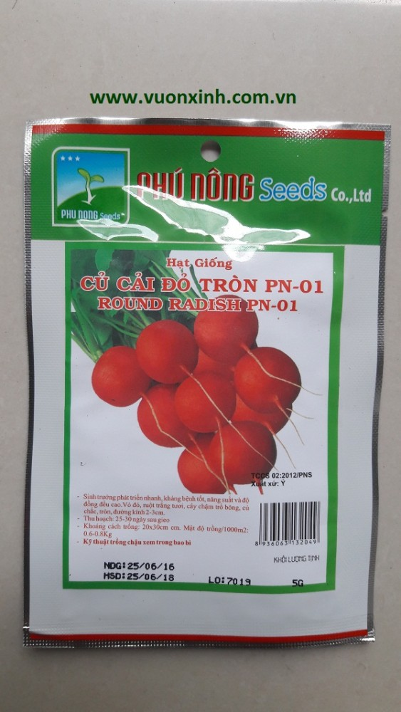 Củ Cải Đỏ tròn PN-01