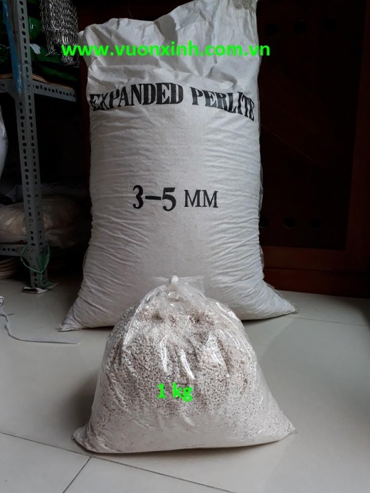 Đá perlite (Đá Trân Châu) - 1kg