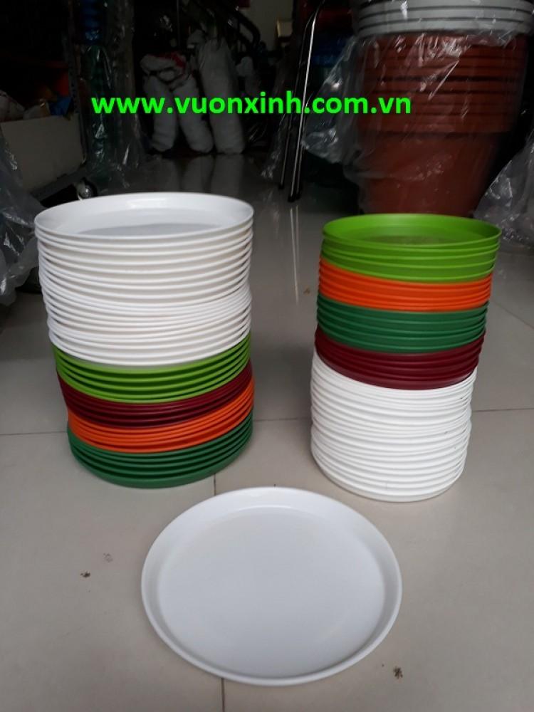 Đĩa nhựa tròn vành 50