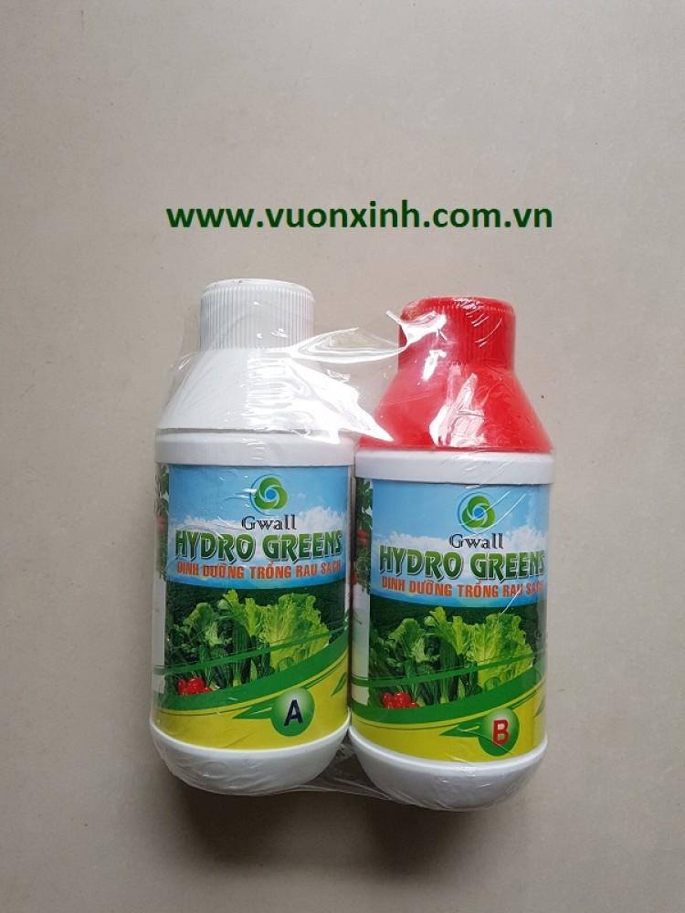 Dinh dưỡng trồng rau Hydro Green 0.5l