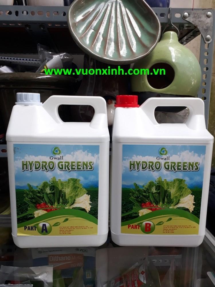 Dinh dưỡng trồng rau Hydro Green 5L