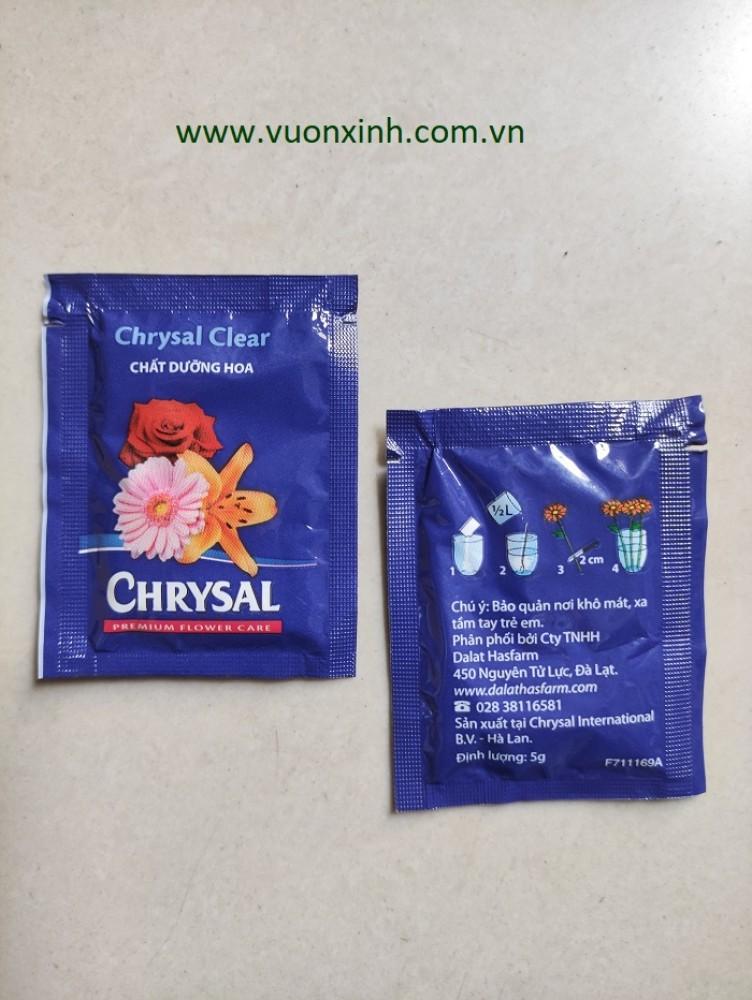 Dưỡng hoa lâu tàn Chrysal