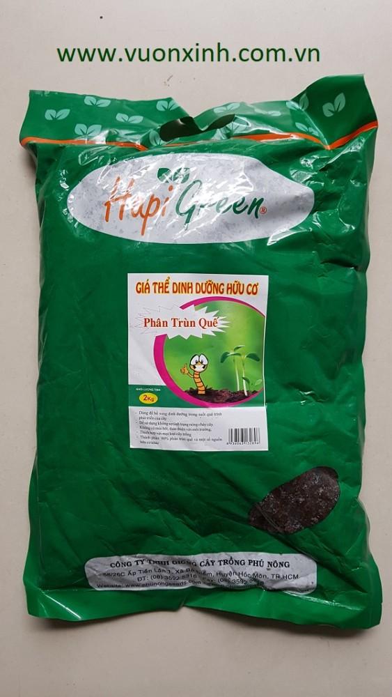 Gía thể hữu cơ-Phân trùn quế 2kg