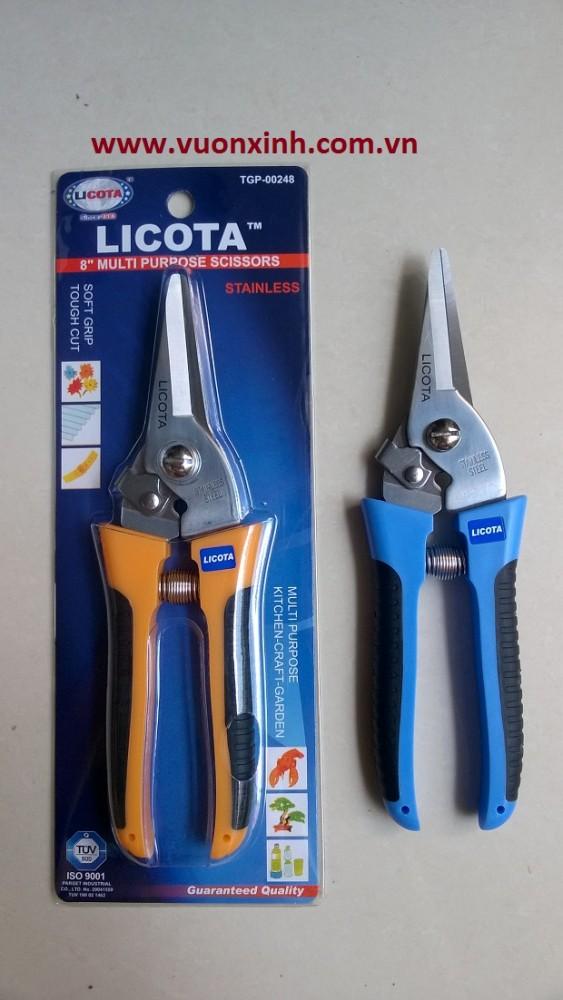 Kéo cắt cành đầu nhọn LICOTA_8''