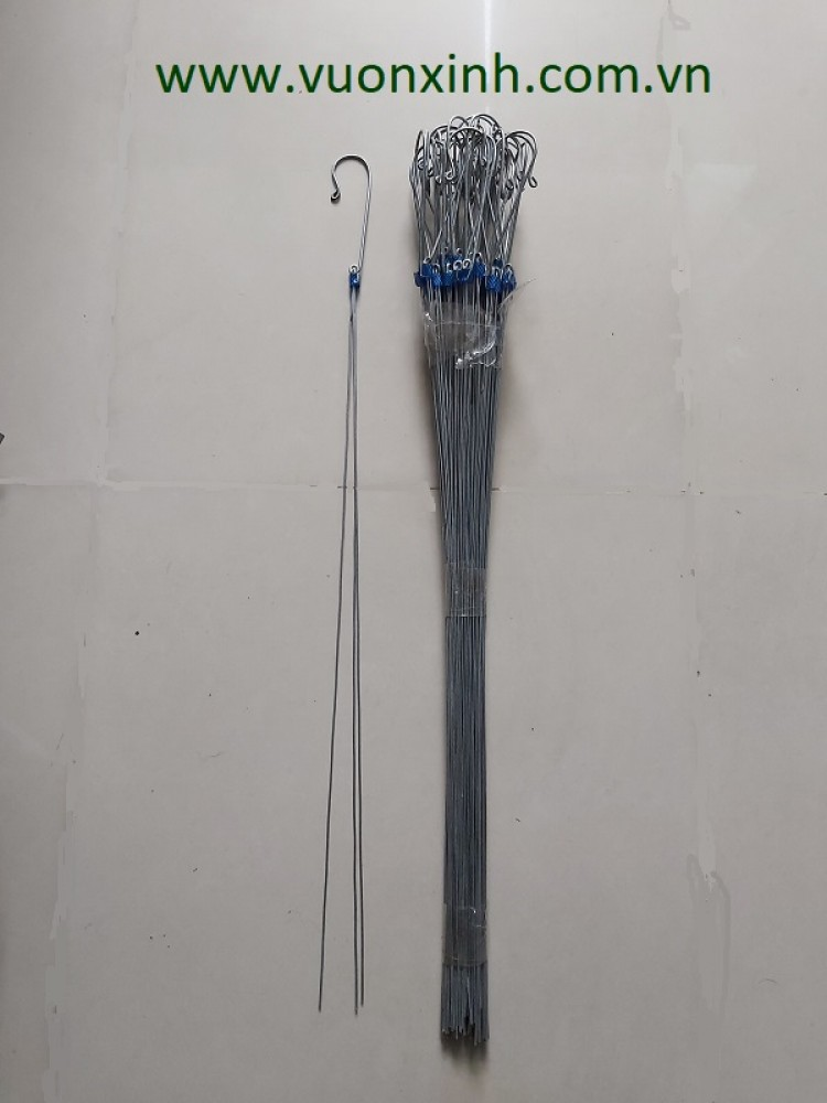 Móc kẽm treo lan 1 mét