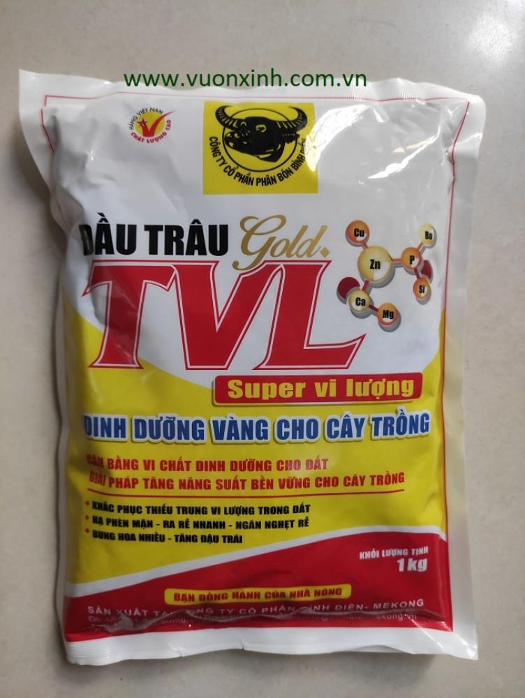 Phân Đầu Trâu Gold TVL Vi lượng_ 1kg