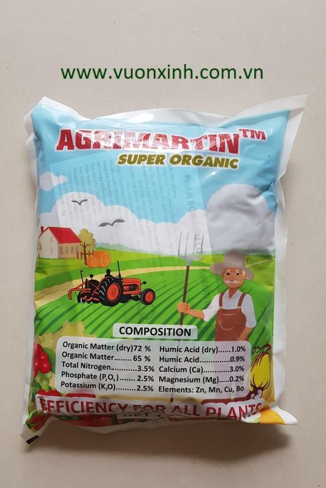 Phân hữu cơ Agrimartin Super Organic 1kg