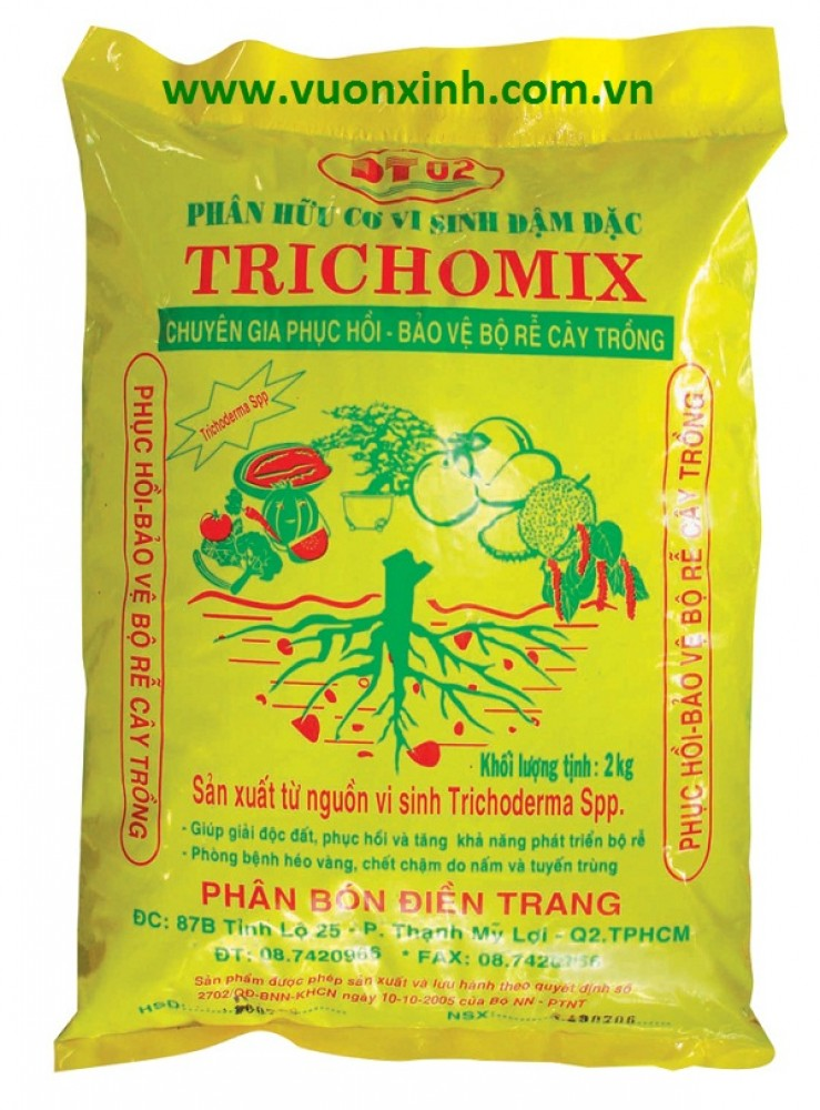 Phân hữu cơ vi sinh TRICHOMIX