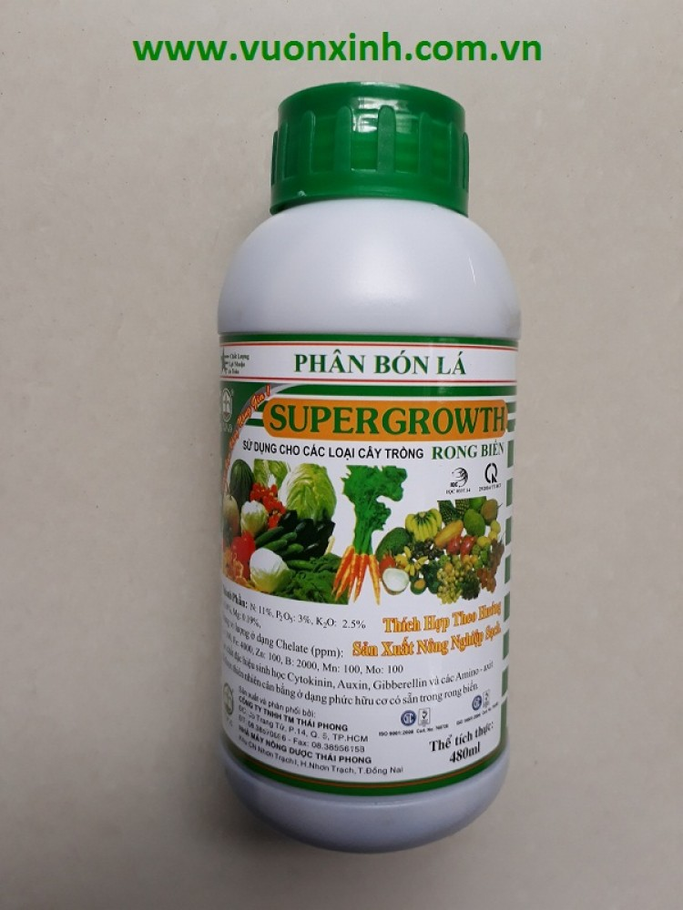 Supergrowth Rong biển 480ml