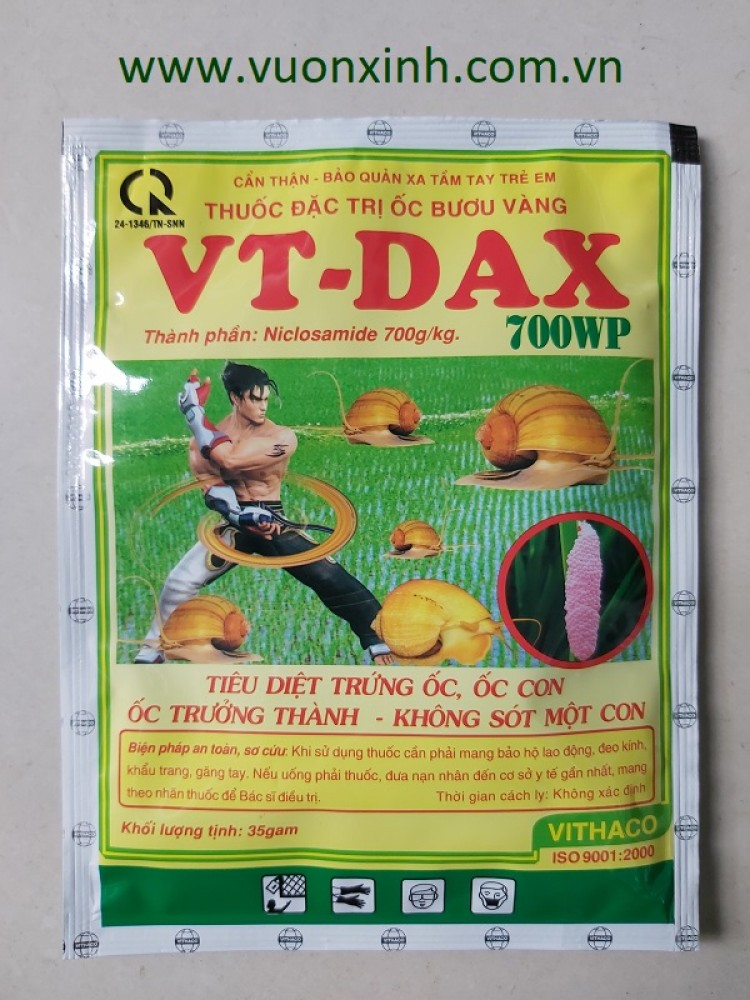 Thuốc đặc trị ốc bươu vàng VT-DAX