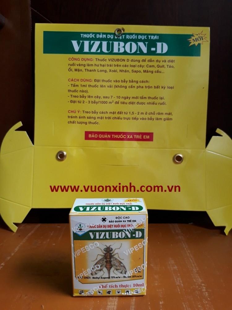 Thuốc dẫn dụ ruồi đục trái VIZUBON-D