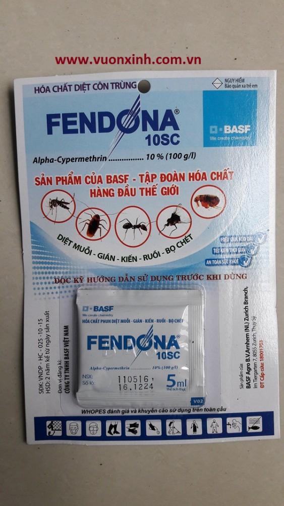 Thuốc diệt côn trùng FENDONA 10SC _5ml