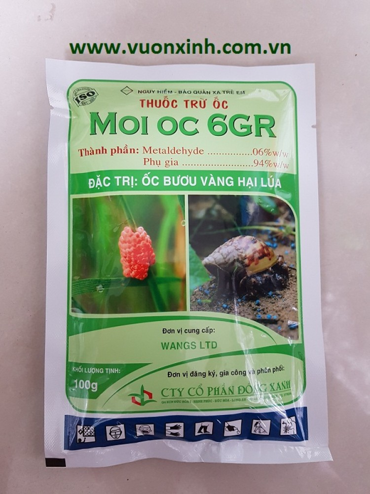 Thuốc Trừ Ốc_MOI OC 6G
