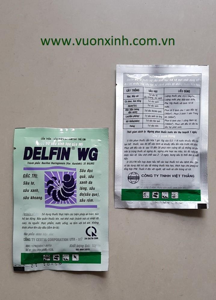 Thuốc trừ sâu sinh học DELFIN 32WG – 10gr